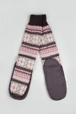Домашние носки Снежинка