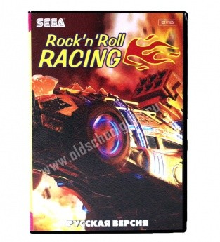 Картридж для Sega - игра Rock and Roll Racing