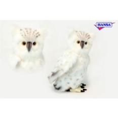 Мягкая игрушка Сова белая от HANSA
