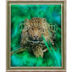 Картина с кристаллами Swarovski Гепард