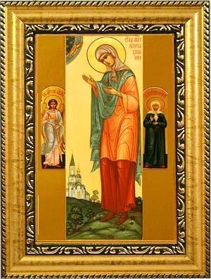 Икона на холсте Мария Данилова мученица