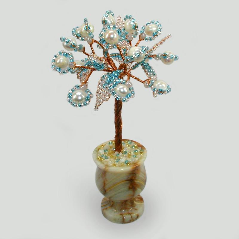 Дерево из жемчуга Жемчужное счастье
