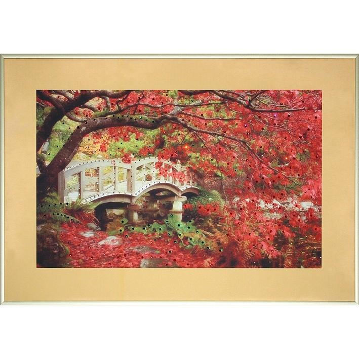 Картина с кристаллами Swarovski Осень