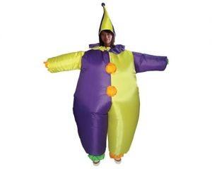 Надувной костюм Веселый клоун