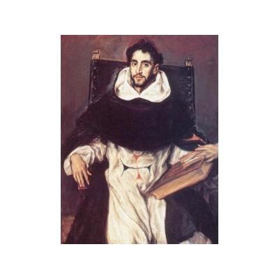 Портрет монаха Ортенсио Феликса Паравинчино