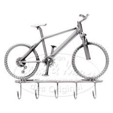 Фигурка из металла Hinz & Kunst Велосипед-вешалка
