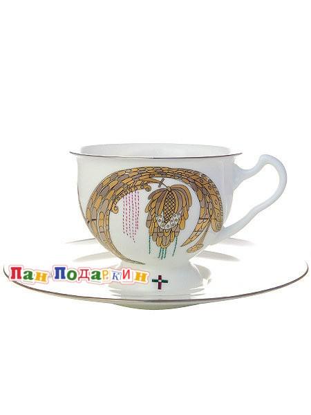 Чайная чашка с блюдцем Навсегда вместе № 2
