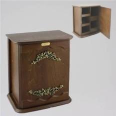 Настенный шкафчик для мелочей Шиповник