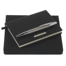 Набор из блокнота и шариковой ручки