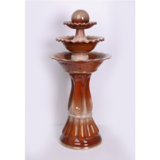 Напольный фонтан Каскад в шоколадной глазури