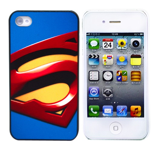 Чехол для iPhone 4/4S Superman Sign