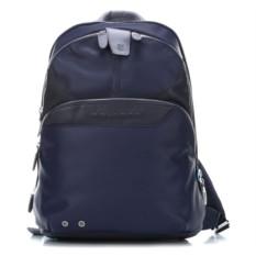Темно-синий компьютерный рюкзак Piquadro Coleos