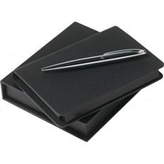 Набор (записная книжка А6, ручка шариковая)
