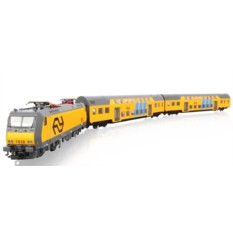 Железная дорога PIKO 96975 Электровоз с двухэтажными вагонами NS