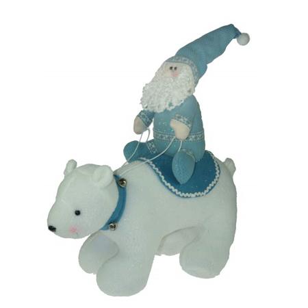 Сувенир «Дед Мороз и медведь»
