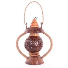 Светильник из кокоса Фонарь желаний