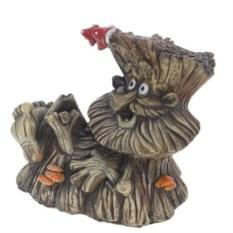Декоративная садовая фигура Пенек-лесовичек №1