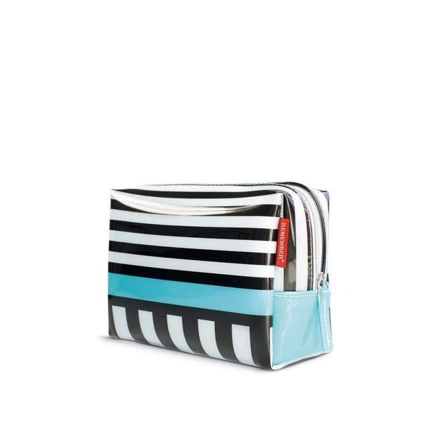 Малая косметичка Black stripes