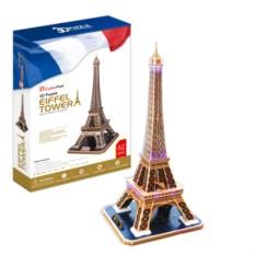 3D пазл Cubic Fun Эйфелева Башня (Франция)