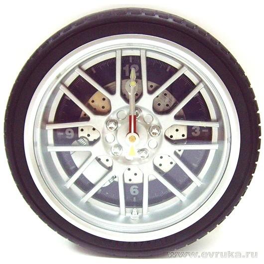 Часы колесо Авто 27*8