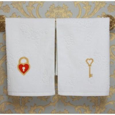 Комплект полотенец «Заветный ключик»