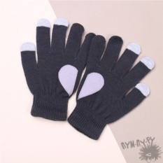 Touch-перчатки Половинки сердца
