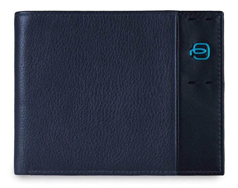 Мужское темно-синее портмоне Piquadro Pulse