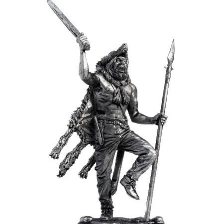 Оловянный солдатик Берсерк, 9-10 век