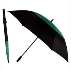 Механический зонт-трость Monsun (черный с зеленым)