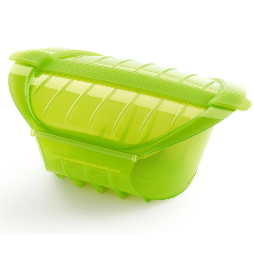 Форма для запекания с силиконовой крышкой на 1-2 порции