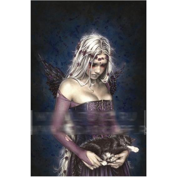 Пазл-миниатюра 1000 деталей - готика «Темный ангел»