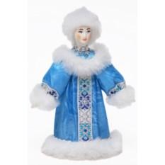 Новогодний сувенир Снегурочка, высота 20 см