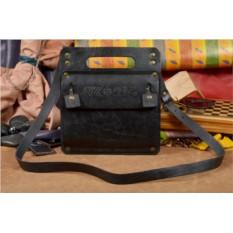Кожаная дизайнерская сумка-планшет ручной работы QADRANT
