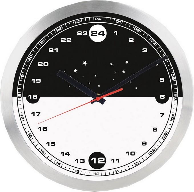 Настенные часы «День-ночь»