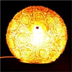 Светильник из ракушек Шар