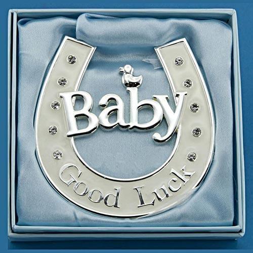 Подкова Baby (подвесная со стразами)
