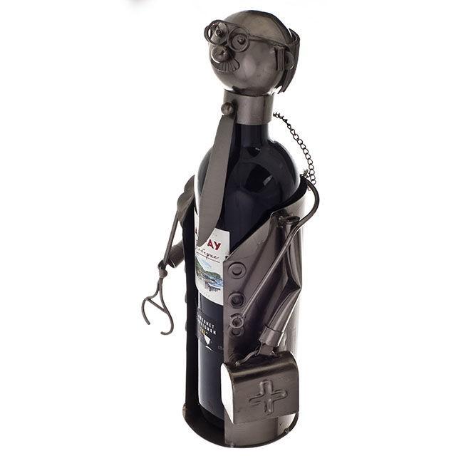 Подставка для бутылок Доктор с чемоданчиком