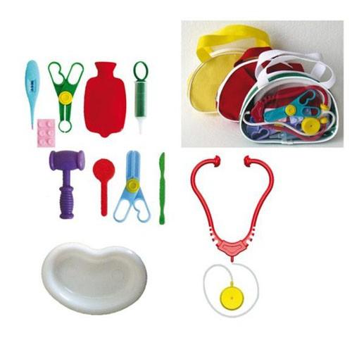 Пластмассовая игрушка в сумке Доктор