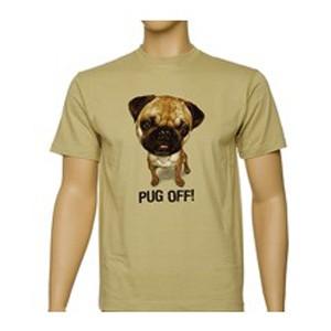 Футболка Pug off