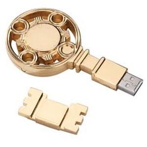 Флэшка «Золотой ключ» на 8 Гб.