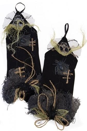 Маскарадные перчатки для взрослых Паутинка