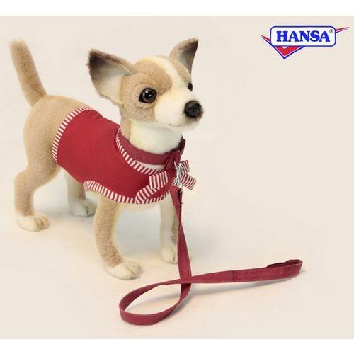 Мягкая игрушка Чихуахуа в красном Hansa