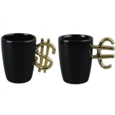 Набор «Финансист» из кружки «Доллар» и кружки «Евро»