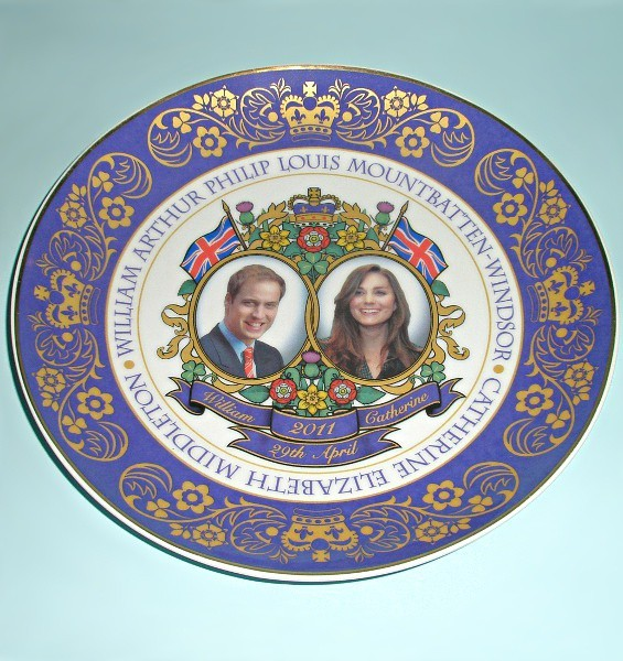 Тарелка Свадьба принца Уильяма и Кейт Миддлтон