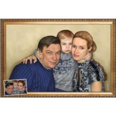 Портрет на Старый Новый год
