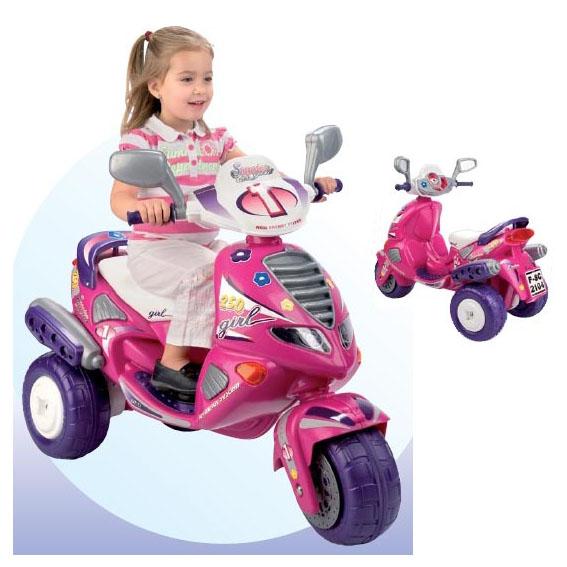 Скутер для девочек Feber