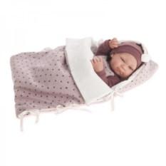 Кукла-младенец Оливия в красном Munecas Antonio Juan