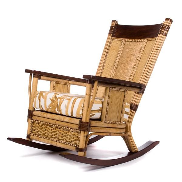 Кресло-качалка с подушкой Rochelle