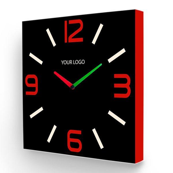 Настенные часы с логотипом вашей компании