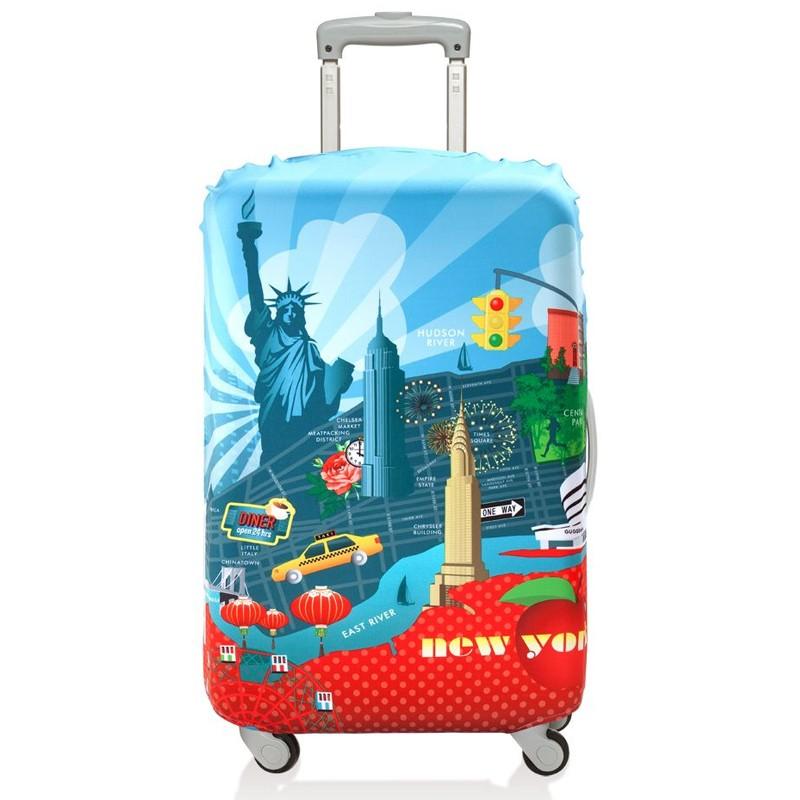 Чехол для чемодана New York, средний